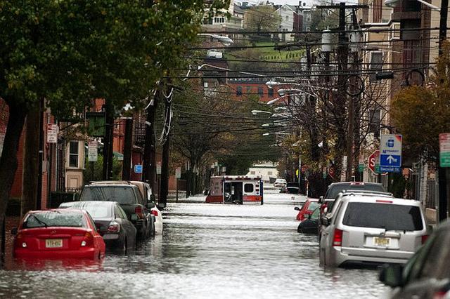 flooded cars nj