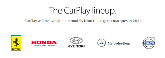 CarPlay models