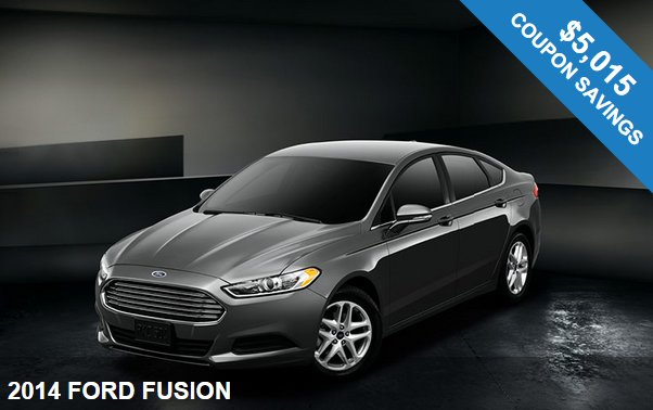 2014 Ford Fusion in NJ