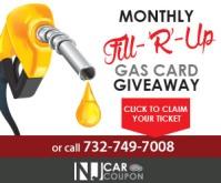 free tank of gas nj