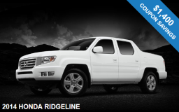 2014 Honda Ridgeline in NJ