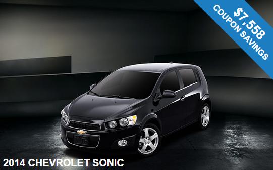 2014 Chevrolet Sonic in NJ