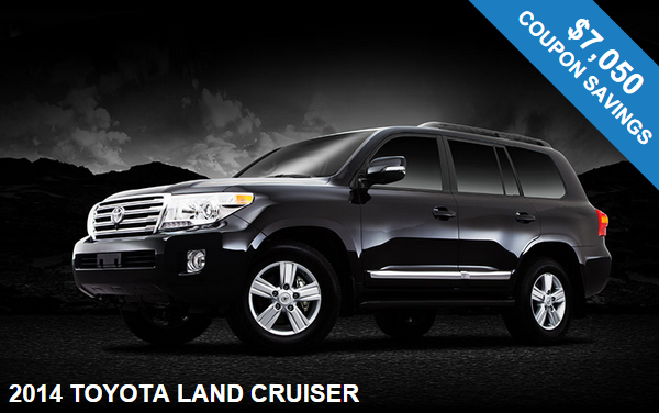 2014 Toyota Land Cruiser in NJ