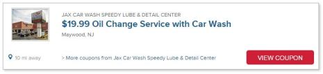jax car wash speedy lube detail center