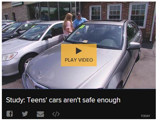 teens cars aren't safe enough